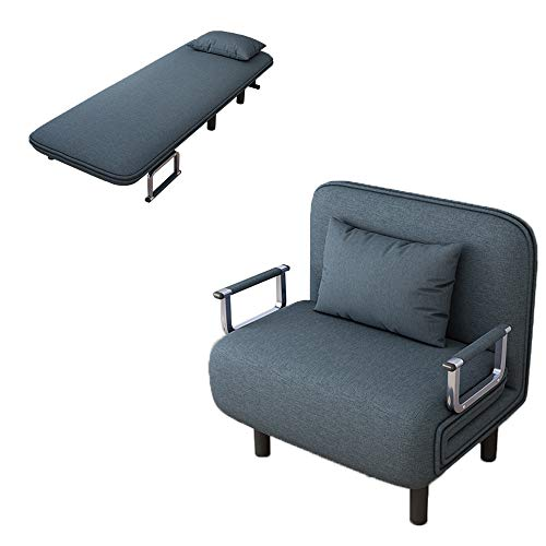 Alalaso Convertible Bed Chair Sleeper Folding Sofa Sleeper Chair Lounger Couch Bed Chair (Ship from USA)