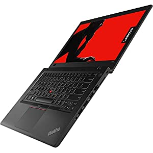 "2018 Lenovo ThinkPad T480 14"" HD Business Laptop (Intel Quad-Core i5-8250U, Fingerprint, Thunderbolt 3 Type-C, WiFi AC, Windows 10 Pro) - Choose from 8GB 16GB 32GB DDR4 RAM, 256GB 500GB 1TB SSD or HDD"