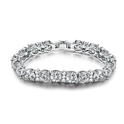 GULICX Ladies Zirconia Crystal Bracelets
