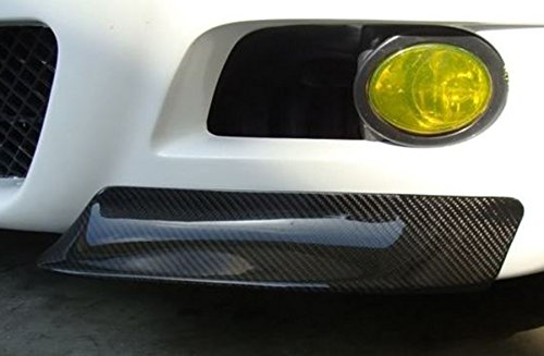 100/% Real Carbon Fiber Sport CSL Style Front Bumper Lip Splitter For 2001-2006 BMW E46 M3