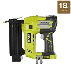 Factory-Reconditioned Ryobi ZRP320 ONE Plus 18V Cordless Lithium-Ion 2 in. Brad Nailer Battery and Charger Sold Separately