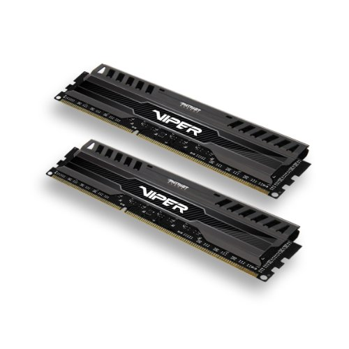 Patriot 16GB(2x8GB) Viper III DDR3 1866MHz (PC3 15000) CL10 Desktop Memory With Black Mamba Heatsink - PV316G186C0K ()