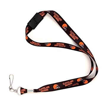 Wincraft Cleveland Browns NFL Lanyard Logo Clip Tag Collar ...