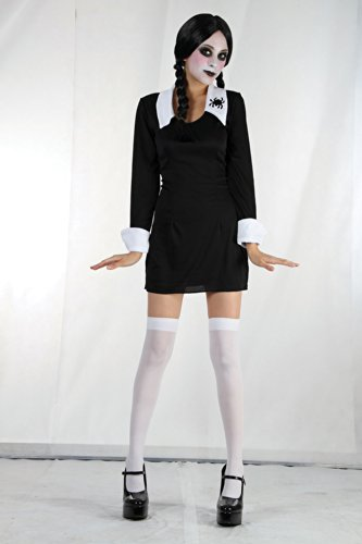 Creepy School Girl Costume (Spider Girl Costume Adults Uk)