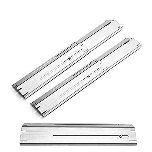 Universal BBQ Grill Replacement Heavy-Duty Adjustable Porcelain Steel Heat Tents