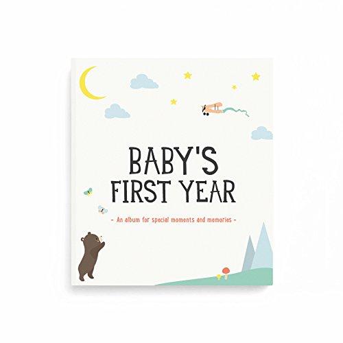 [해외]아기의 첫 해 앨범 / Baby`s First Year Album