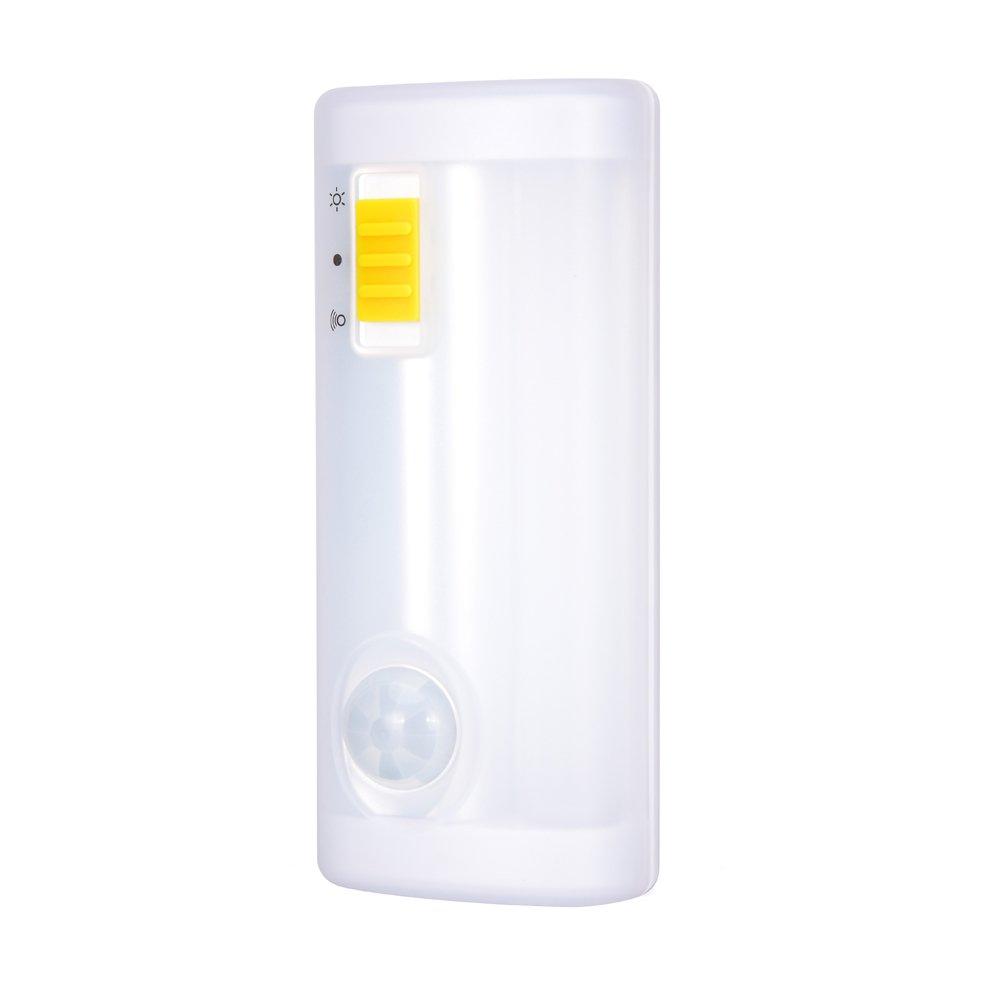 LEAGUE&CO Mini Motion Sensor Light & Key Rack Organizer Battery Powered Wireless Light Bar Hanging Hooks for Entryway Hallway Kitchen Cabinet Wardrobe Closet Kid's Room by LEAGUE&CO (Image #4)