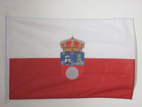 AZ FLAG Bandera de CANTABRIA 90x60cm Uso Exterior - Bandera CÁNTABRA – CANTÁBRICA 60 x 90 cm Anillos: Amazon.es: Hogar