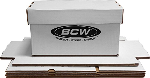 "BCW Brand 7"" Record Album Storage Box with Removable Lid -"