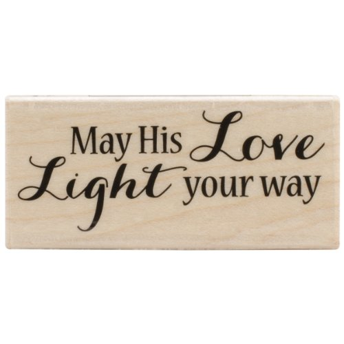 Hero Arts Light Your Way Woodblock Stamp (Card Christmas Greeting Making)