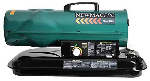 NewMac PRO NM-75K 75,000 BTU Forced Air Kerosene Heater