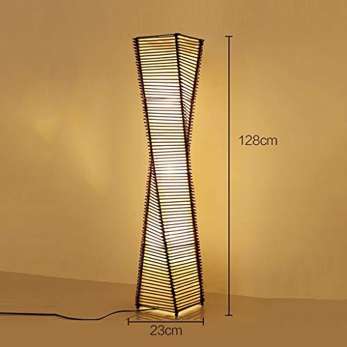 Lámparas de pie Estudio Moderna Japonesa Rattan Sala Permanente ...