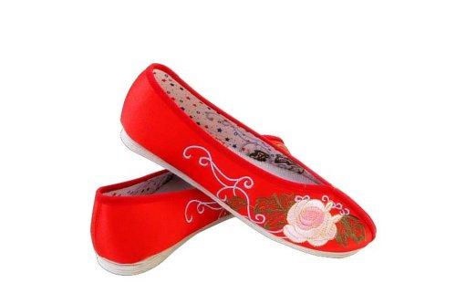 rojo senderismo Rojo para Interact Zapatillas de mujer rojo China AwpZw7qv