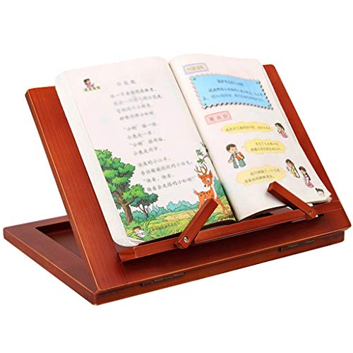 piaoling Wooden Frame Reading Bookshelf Bracket Book Reading Bracket Tablet PC Support Music Stand Drawing Easel