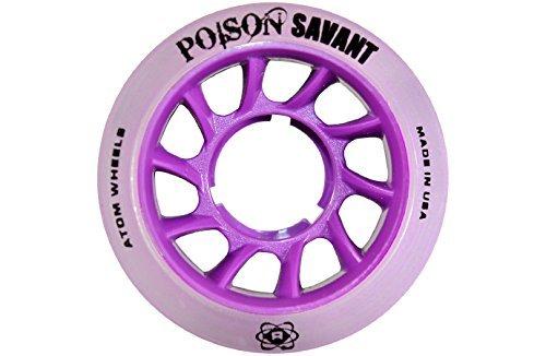 Atom Skates Savant Poison 84a 59x38 Purple (QWA3150.PU) by Atom Skates