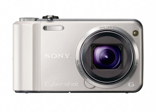 Sony Cyber-Shot DSC-H70 16.1 MP Digital Still Camera with 10x Wide-Angle Optical Zoom G Lens and 3.0-inch LCD (Silver)