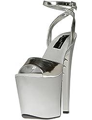 The Highest Heel Womens FANTASY-61-S Open Toe Platform Sandal