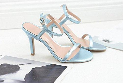 Bleu Bleu Pour Lazutom Lazutom Femme Lazutom Lazutom Femme Pour Pour Sandales Sandales Bleu Femme Sandales 5q1XXH