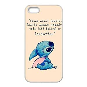 iPhone 5/5S Case,iPhone 5S Case,Disney Lilo & Stitch Ohana Rubber Case for iPhone 5S,iPhone 5 case,iPhone 5s Cover Case,New Waterproof Protection Case Cover for Apple iPhone5/5S