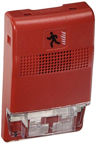 Edwards Signaling EG1R-VM Strobe, Multi-CD, Red