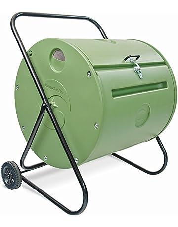 Petit-Compostador de jardín giratoria 140 L-Compostador Mantis