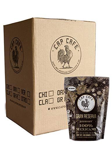 Cap Café, Grano Gran Reserva, 12 piezas, de 500 gr