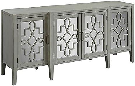 Clover Mirrored Cabinet, 34u0026quot;Hx72u0026quot ...
