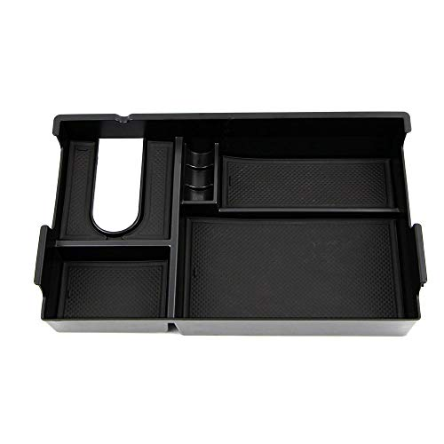 - Generic Armrest Storage Box for Toyota Tundra 2014 2015 2016 2017 2018 Central Console Glove Tray