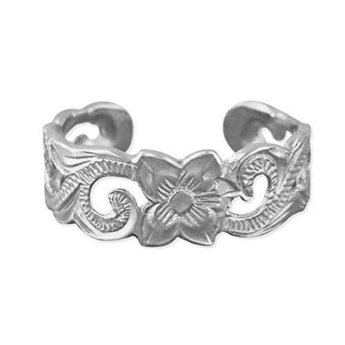 (Sterling Silver Scroll Filigree Toe Ring)