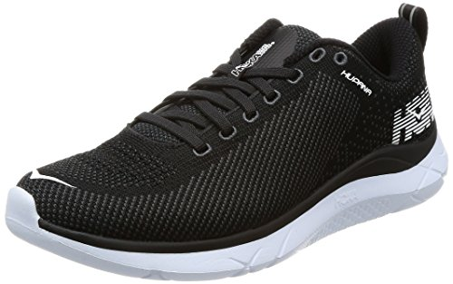 HOKA ONE ONE Mens Hupana Black/Dark Shadow Running Shoe - 11