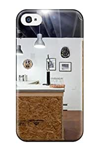 Premium Industrial Style Home Bar Made From Plywood Back Cover Snap On Case For Iphone 4/4s