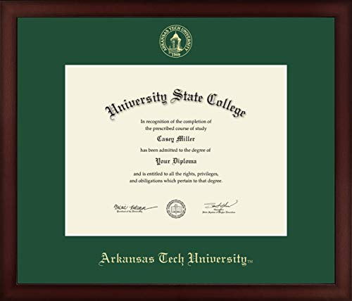 (Arkansas Tech University - Officially Licensed - Gold Embossed Diploma Frame - Diploma Size 11