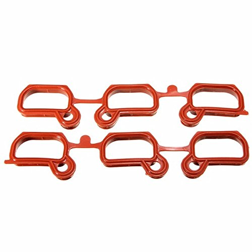 5pcs Engine Intake Manifold Gasket Repair Replacement Set Victor Reinz OEM 36631 For BMW E36 E39 E46 ()