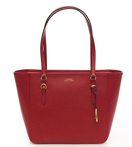Ralph Lauren Borsa Donna Shopper Shopper Medium Red