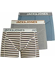 JACK & JONES herr JACBREDA TRUNKS 3 PACK Boxershorts