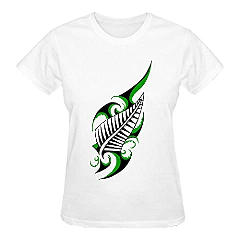Design Australia New Zealand Dice Lady Crew Neck T Shirt White (Of Mice And Men Robert Blake)