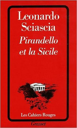 Livre Pirandello et la Sicile pdf epub