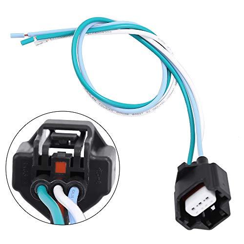 Crankshaft Camshaft Position Sensor Connector Plug Pigtail Harness 3-Pin For Nissan Infiniti 23731-4M50B, ()