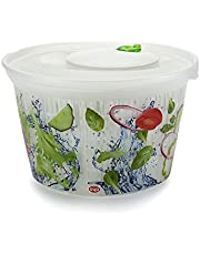 Snips Saver Ulaop Classic 4 Liter Salad Spinner, Multi-Color, One Size