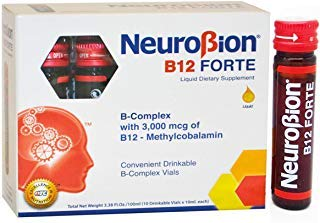 Neurobion B12 Forte 10 Vials x 10 ml by Neurobion