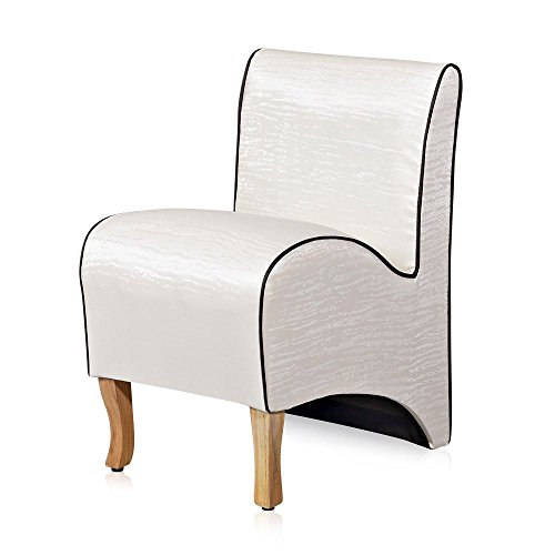 Mini Polster Sessel Esszimmer Stuhl Sitzmöbel Softsessel Relaxsessel beige
