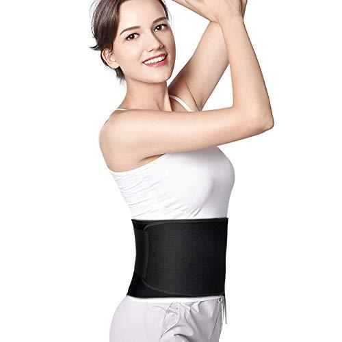 Veeca Waist Trimmer Belt Waist Trainer Belt for Women and Men Weight Loss Wrap Stomach Fat Burner