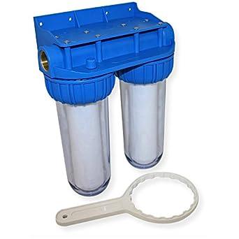 Großartig Naturewater NW-BR10B3 Doppelfilter 1/2 Zoll 20,67 mm Wasserfilter  WP72