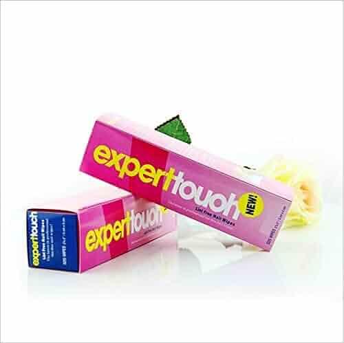 DOOPOOTOO 325pcs lint Nail Art Gel Polish Remover Cotton Pad Nail Wipe