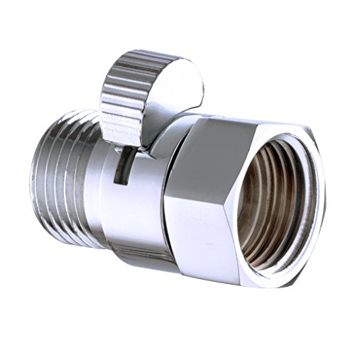 Shut Off Switch - Kabter Brass Shower Flow Control Valve Shut Off Switch,Polished Chrome
