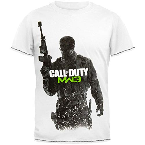 Call of Duty - MW3 Cover Art T-Shirt (Call Shirt Duty Of Mw3)
