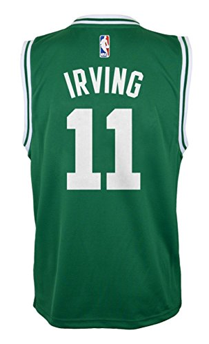 the latest 106bd 96409 Outerstuff Kyrie Irving Boston Celtics #11 Green Youth Road Replica Jersey