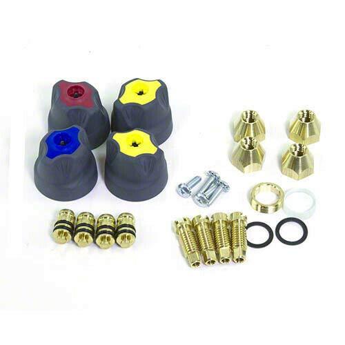 Yellow Jacket 41082 TITAN 4-Valve Rebuild and Replacement Kit ()