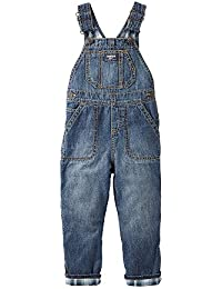 Flannel Lined Overalls (Baby/Toddler)