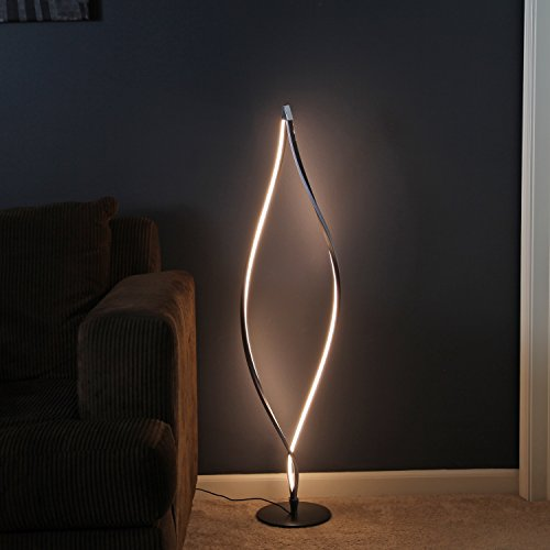 Modern twist led floor lamp 16 watt 2200 lumens 43 inches tall brightech modern twist led floor lamp 16 watt 2200 lumens 43 inches tall with 8 inch base mozeypictures Choice Image